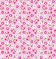 floral background pattern vector image vector image