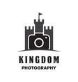 kingdom photography logo vector image
