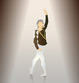 male ballet poses vector image vector image