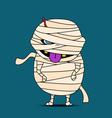 Mummy cartoon vector image