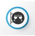 nightclub icon symbol premium quality isolated vector image