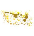 yellow vector image