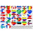 World flag vector image