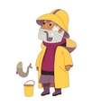 Fisherman Dodo People collection vector image