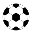 soccer ball isolated icon design vector image