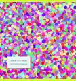 Seamless Confetti Pattern vector image