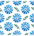 seamless pattern with beautiful watercolor vector image
