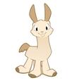 Cartoon Llama Alpaca vector image vector image