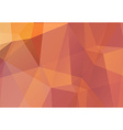 Colorful abstract polygonal background vector image vector image