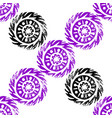 ethnic tribal native circle mandala hand drawn vector image vector image