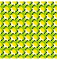 Geometric abstract lime color pattern vector image vector image
