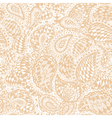 Geometric doodle seamless wallpaper pattern vector image vector image