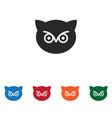 owl icon vector image