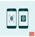 Smartphones icon isolated
