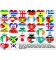 World flag EPS10 vector image vector image