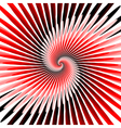 Design colorful spiral movement background vector image vector image