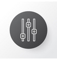 equalizer icon symbol premium quality isolated vector image