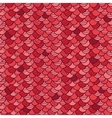 red rotile seamless pattern background vector image