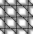 Seamless black and white pattern simple stripes vector image vector image