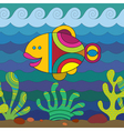 Stylize Fish vector image vector image