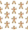 voodoo doll seamless pattern vector image