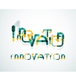 Innovation word concept vector image
