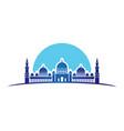 mosque design vector image vector image