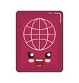 passport icon image vector image vector image