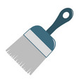 brush icon design isolated vector image vector image
