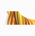 modern liquid color flow on white - colorful flow vector image vector image