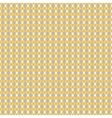 Mustard yellow and taupe geometric seamless vector image vector image