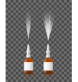 realistic detailed 3d spray nasal set on a vector image vector image