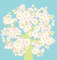 Sacura tree blossom vector | Price: 1 Credit (USD $1)