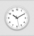 wall office clock icon vector image vector image