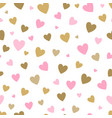seamless pattern white background with pink and vector image