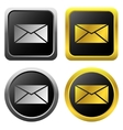 Email message icons vector image vector image