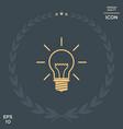 light bulb - new ideas vector image vector image
