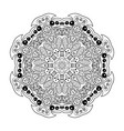 mandala doodle drawing floral ornament ethnic vector image