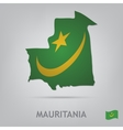 mauritania vector image