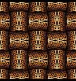 modern surface 3d greek seamless pattern vector image vector image