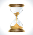 Old Hourglass vector image