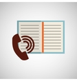 phone book notebook adress vector image