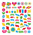 sale speech bubble icons buy now arrow symbol vector image vector image