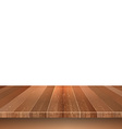 wooden decking on white background 0305 vector image
