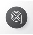 hose icon symbol premium quality isolated fire vector image