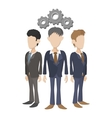 Human resources icon cartoon style vector image