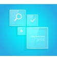Style design with web icons vector image vector image