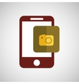 technology app ecommerce vector image vector image