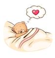 Teddy Bear sleeps