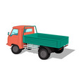truck for transport vector image